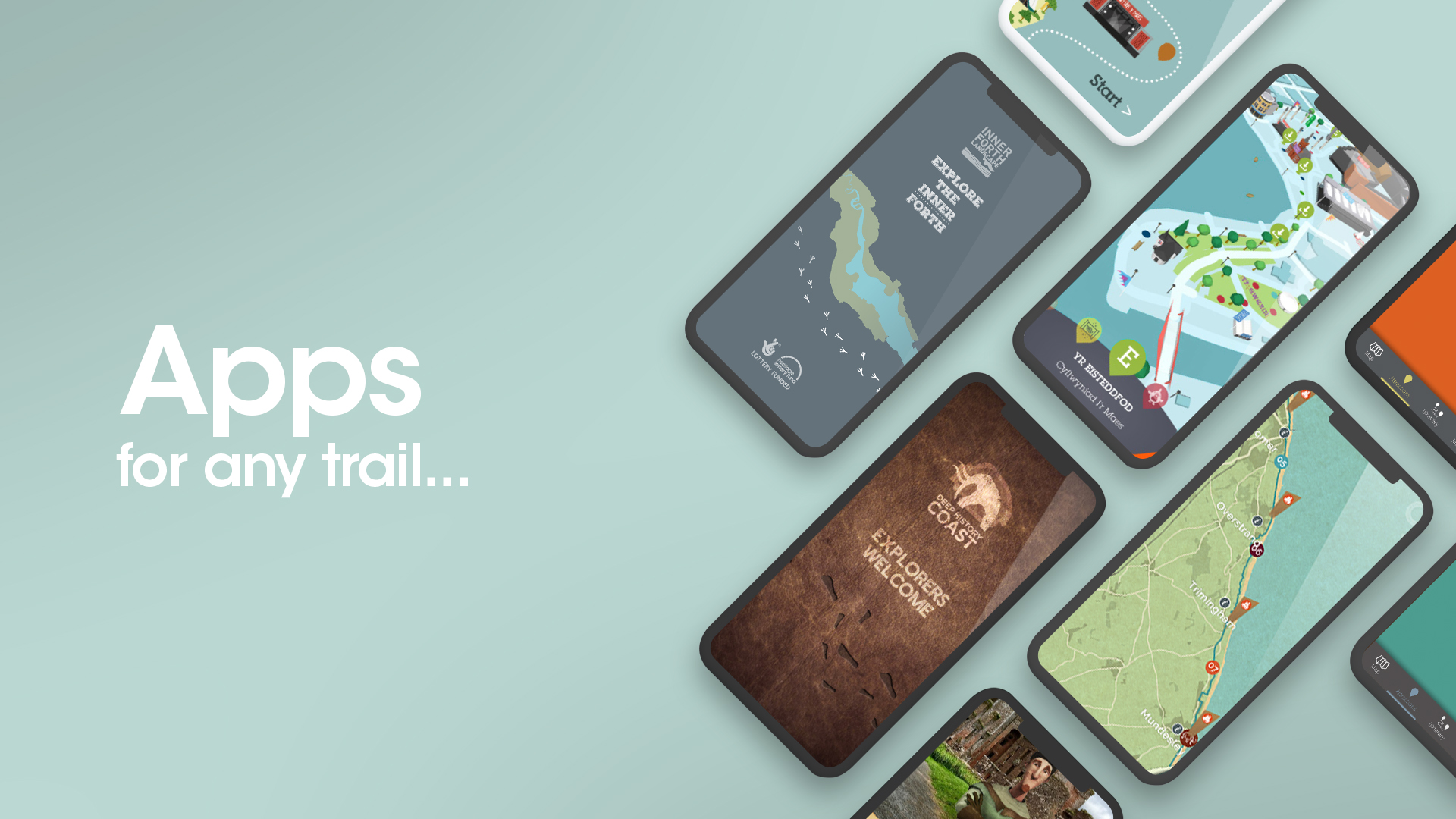 Apps for any trail…